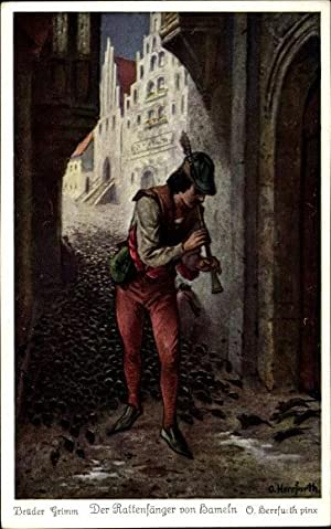 Künstler Ansichtskarte / Postkarte Herrfurth, Oskar, Der