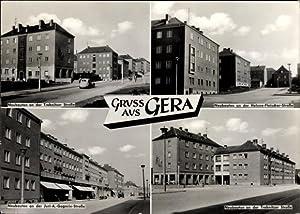 Ansichtskarte / Postkarte Gera in Thüringen, Neubauten