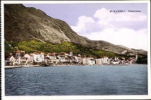 Ansichtskarte / Postkarte Makarska Kroatien, Panorama, Wasserblick