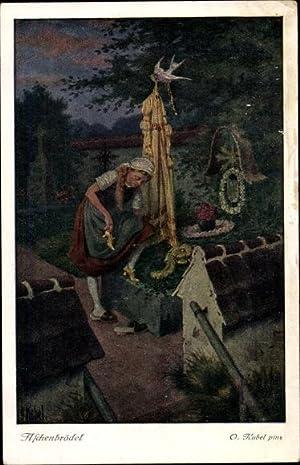 Künstler Ansichtskarte / Postkarte Kubel, Otto, Aschenbrödel,