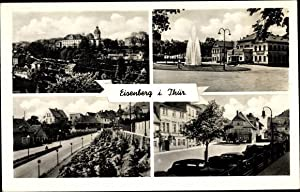 Ansichtskarte / Postkarte Eisenberg im Saale Holzland