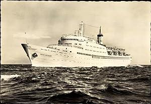 Ansichtskarte / Postkarte FDGB Urlauberschiff TMS Fritz