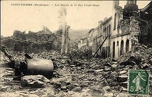 Ansichtskarte / Postkarte Saint Pierre Martinique, Les