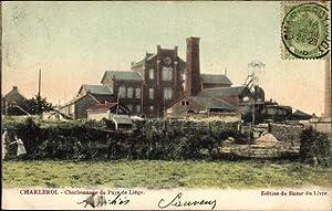 Ansichtskarte / Postkarte Charleroi Wallonien Hennegau, Charbonnage
