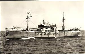 Ansichtskarte / Postkarte Dampfschiff M.S. Prins Willem