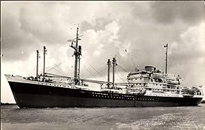 Ansichtskarte / Postkarte Dampfschiff M.V. Houtman, Koninklijke