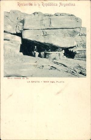 Ansichtskarte / Postkarte Argentinien, La Gruta, Mar