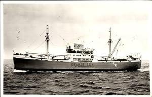 Ansichtskarte / Postkarte Oranje Lijn, Dampfer M.S.