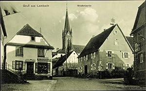 Ansichtskarte / Postkarte Lembach Bas Rhin, Straßenpartie