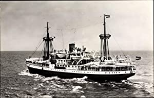 Ansichtskarte / Postkarte Dampfschiff type MV Kaloekoe,