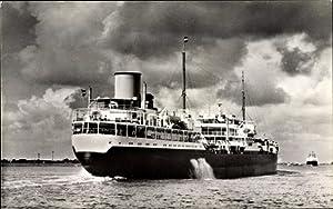 Ansichtskarte / Postkarte Tanker T.S.S. Westertoren, Koninklijke