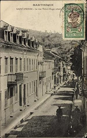 Ansichtskarte / Postkarte Saint Pierre Martinique, La