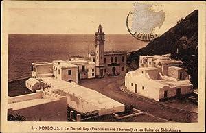 Ansichtskarte / Postkarte Korbous Tunesien, Le Dar