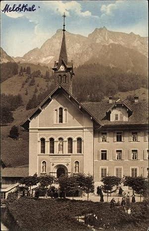 Ansichtskarte / Postkarte Melchtal Kanton Obwalden, Blick