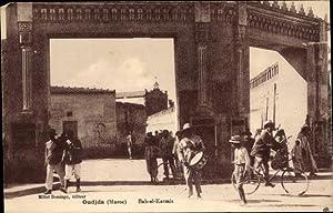 Ansichtskarte / Postkarte Oudjda Oujda Marokko, Bab