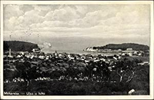 Ansichtskarte / Postkarte Makarska Kroatien, Ulaz u