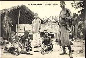 Ansichtskarte / Postkarte Moyen Congo Franzlsisch Kongo,
