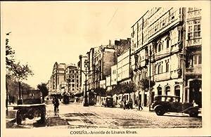 Ansichtskarte / Postkarte A Coruña Galicien, Avenida