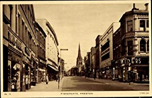 Ansichtskarte / Postkarte Preston North West England,