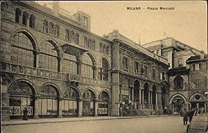 Ansichtskarte / Postkarte Milano Mailand Lombardia, Piazza