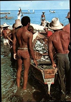 Ansichtskarte / Postkarte Martinique, Après le coup