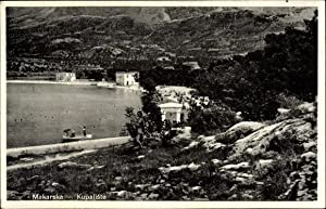 Ansichtskarte / Postkarte Makarska Kroatien, Kupaliste, Badestelle,