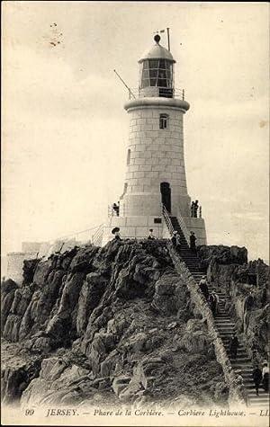 Ansichtskarte / Postkarte Jersey Kanalinseln, Phare de