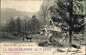 Ansichtskarte / Postkarte La Chaux Kt. Waadt
