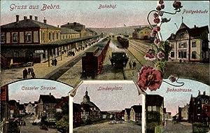 Ansichtskarte / Postkarte Bebra Hessen, Bahnhof von