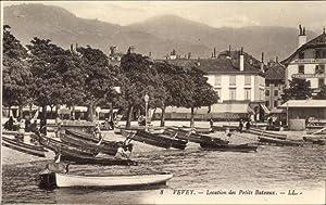 Ansichtskarte / Postkarte Vevey Kt. Waadt Schweiz,