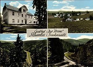Ansichtskarte / Postkarte Räumlas Schwarzenbach am Wald