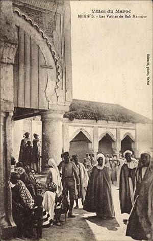Ansichtskarte / Postkarte Meknès Marokko, Les Voutes