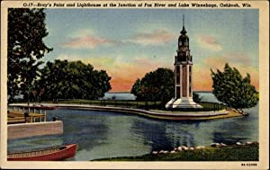 Ansichtskarte / Postkarte Oshkosh Wisconsin USA, Bray's