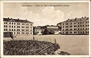 Ansichtskarte / Postkarte Karlskrona Schweden, Parti av