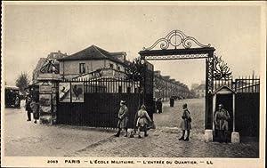 Ansichtskarte / Postkarte Paris, L'École militaire, L'Entrée