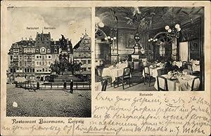 Ansichtskarte / Postkarte Leipzig in Sachsen, Restaurant