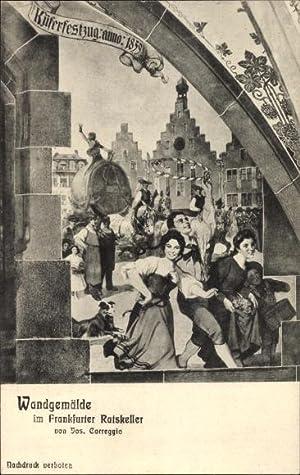 Ansichtskarte / Postkarte Frankfurt am Main in