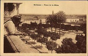 Ansichtskarte / Postkarte Relizane Algerien, Place de