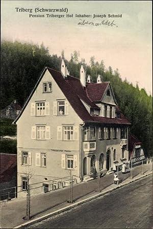 Ansichtskarte / Postkarte Triberg im Schwarzwald, Pension
