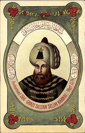 Künstler Ansichtskarte / Postkarte Ghazi Sultan Selim