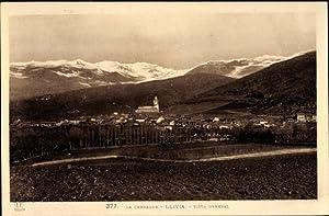 Ansichtskarte / Postkarte Llivia Katalonien, Vista General,