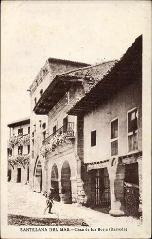 Ansichtskarte / Postkarte Santillana del Mar Kantabrien