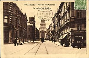 Ansichtskarte / Postkarte Bruxelles Brüssel, Blick in