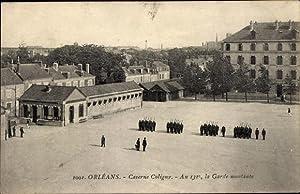 Ansichtskarte / Postkarte Orléans Loiret, Caserne Coligny,