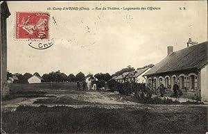 Ansichtskarte / Postkarte Avord Cher, Camp, Rue