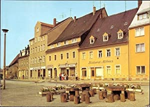 Ansichtskarte / Postkarte Oederan Sachsen. Platz der