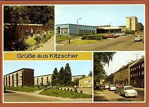 Ansichtskarte / Postkarte Kitzscher Kreis Borna, Kleintierzoo,