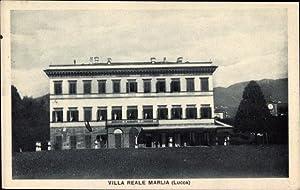 Ansichtskarte / Postkarte Lucca Toscana, Villa Reale