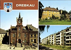 Wappen Ansichtskarte / Postkarte Drebkau im Kreis