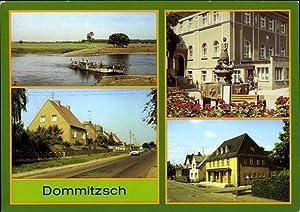 Ansichtskarte / Postkarte Dommitzsch Sachsen, Elbfähre, Wittenberger